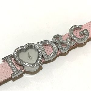 Dolce and Gabbana I heart D&G watch